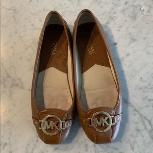 Michael Kors Leather Moccasin Size 8
